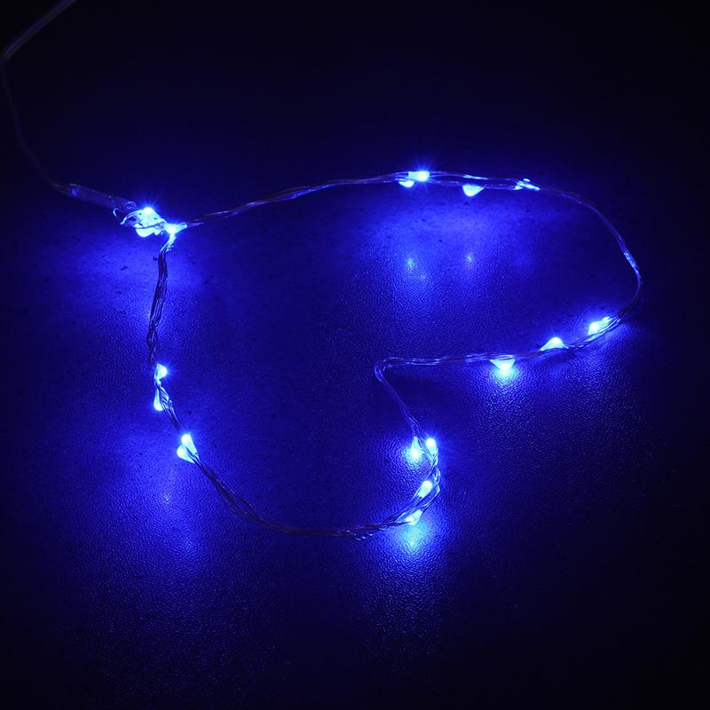 2M 20 LED Beads Copper Wire String Lights Waterproof Decorative ...