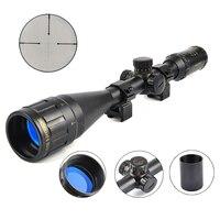 Carl ZEISS 6 24X50 Golden Marking Optics Riflescope Red And Green Retical Fiber Optic Sight Scope