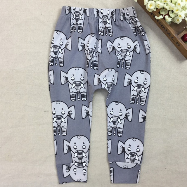 COSPOT Baby Girls Boys Harem Pants Newborn Cotton Cartoon PP Trousers Kids Autumn Spring Fashion Leggings 2017 New Arrival 30F