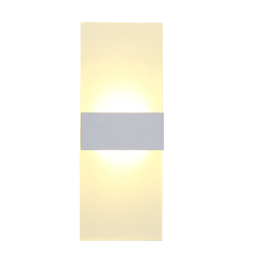 ФОТО Modern and minimalist Fashion Fashion creative led bedside lamp bedroom acrylic wall lamp hotel room sconce staircase lighting
