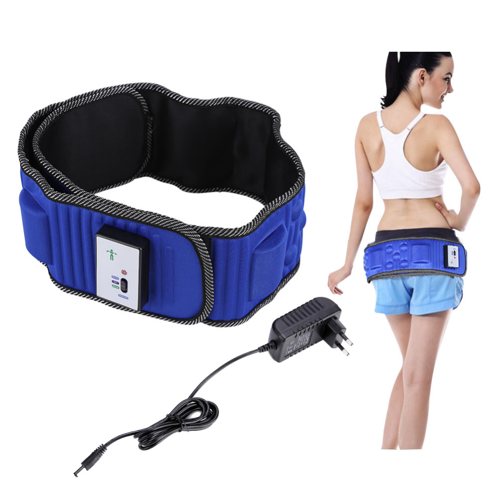Electric Body Vibrating Massager 5 Motors Slimming Belt Body Waist Leg Slimming Fat Burning Weight Losing Body Shaping Machine body slimming massager electric fitness vibrating device massage belt fat burning thin waist leg belly machine weight losing