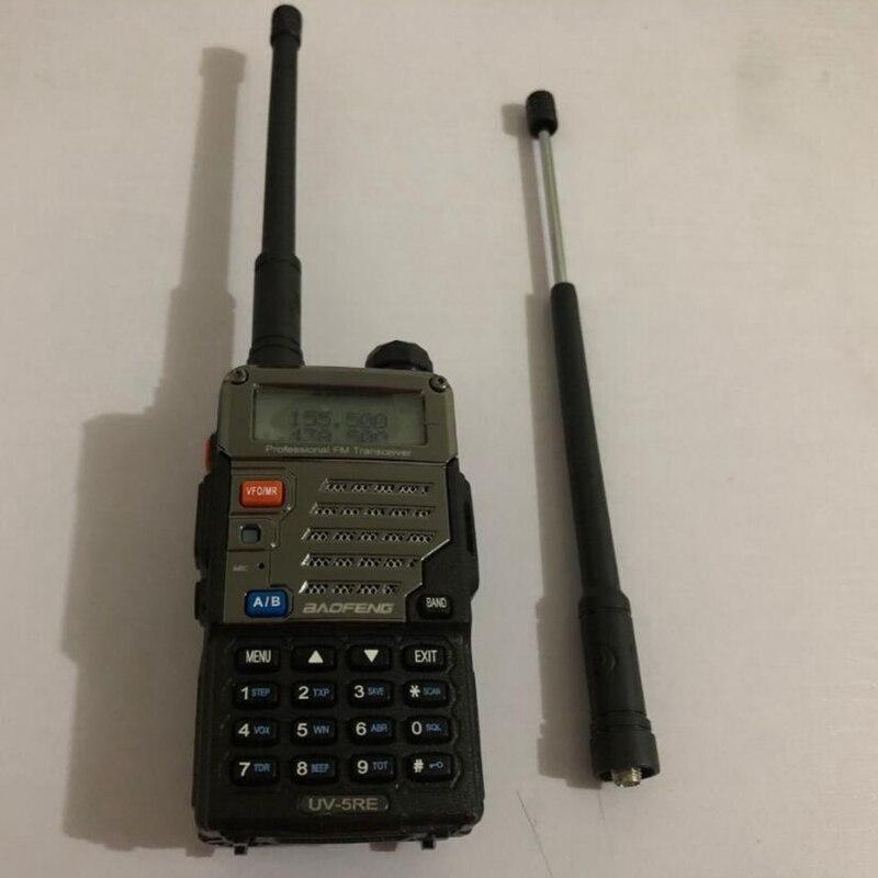 2018 Newset baofeng talkie walkie antenne Télescopique pour UV-5R 888 s UV-82 SMA-F connecteur deux accessoires de radio bidirectionnelle
