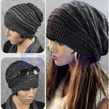 Winter Reversible Beanie Men Hat Womens Hats Snow Caps Knit Hat Skull Baggy Warm Skullies Touca Gorro