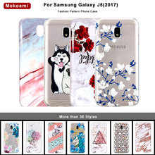 Mokoemi Fashion Cute Pattern Soft 5.2For Samsung Galaxy J5 2017 Case For J530 Cell Phone Cover