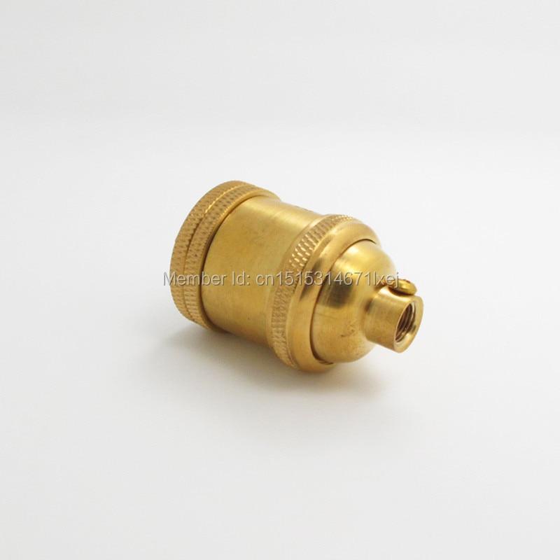 Bases da Lâmpada lâmpada de bronze do vintage Matéria-prima : Latão