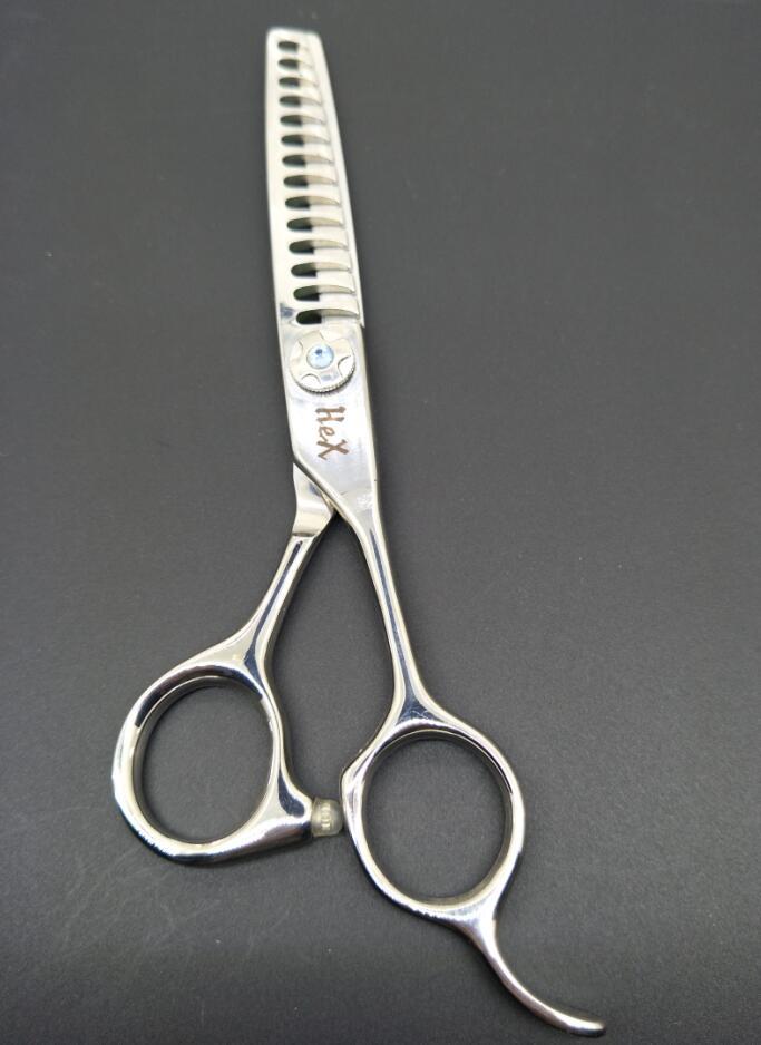 Японский 440C 14 зубьев текстурирования ножницы для профессионального использования салоне волосы