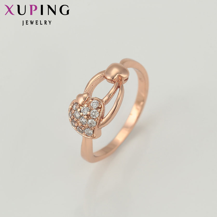 Xuping jewelry Fashion New Style Ring Gold Color Plated Synthetic ...