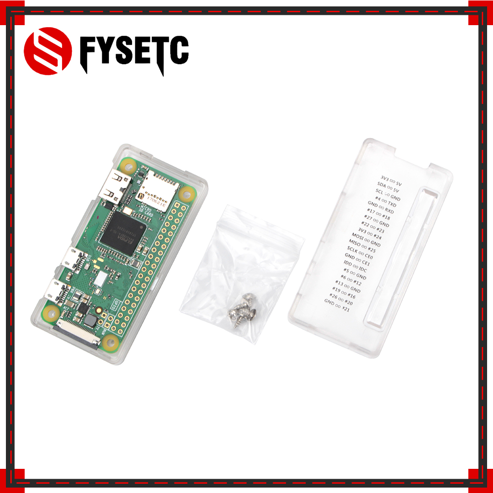 Protective Shell Case Enclosure For Raspberry Pi Zero//Zero1.3 Module Transparent