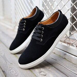 Image 2 - حذاء كاجوال رجالي حذاء رجالي بدون كعب ماركة جينتلمان أحذية رياضية رجالي