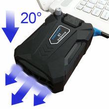 Efficace universel Ordinateur Portable refroidisseur, USB Notebook Cooling fan raditator pad Pour PC Base Informatique Cooling Pad Renforcer Édition