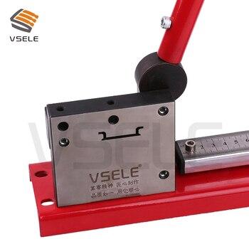 din rail cutter, din rail cutting tool, easy cut with measure gauge cut with ruler