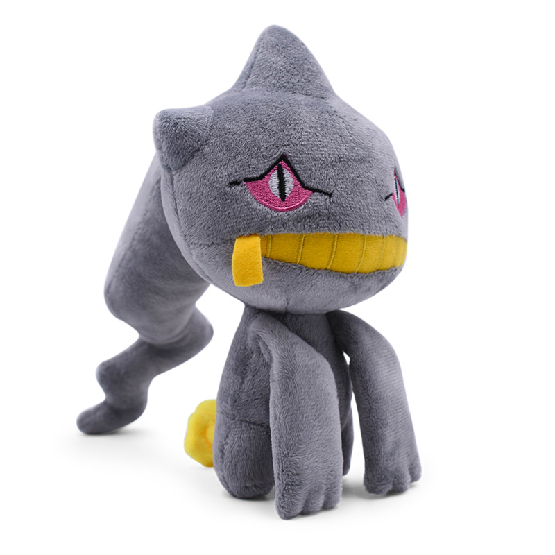New Banette Branette 7''18cm Kawaii Pikachu Anime Figure Plush Toy Soft Dolls Gifts Kids Toys For Children Free Shipping