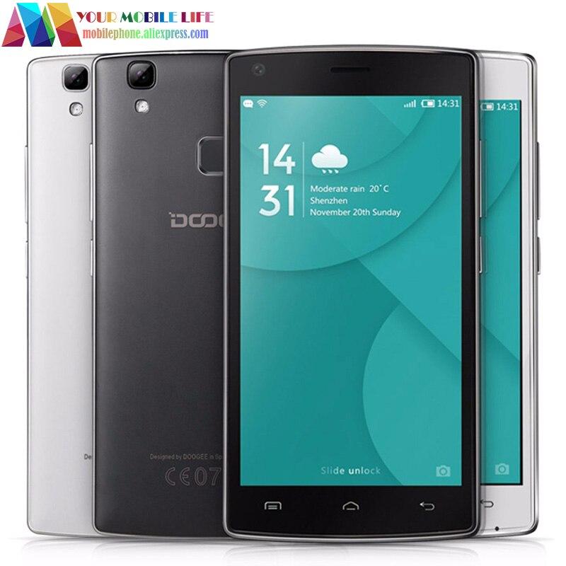 Цена за Original DOOGEE X5 MAX/MAX Pro MTK6737 2 ГБ ОЗУ + 16 Г ROM Quad ядро Android 6.0 5.0 Дюймов Отпечатков Пальцев LTE 4 Г Dual SIM смартфон