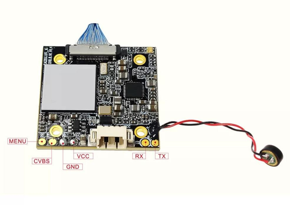 Image 4 - LeadingStar Caddx żółw V2 1080p 60fps FOV 155 stopni Super WDR Mini HD FPV OSD kamery Mic dla RC droneCzęści i akcesoria   -