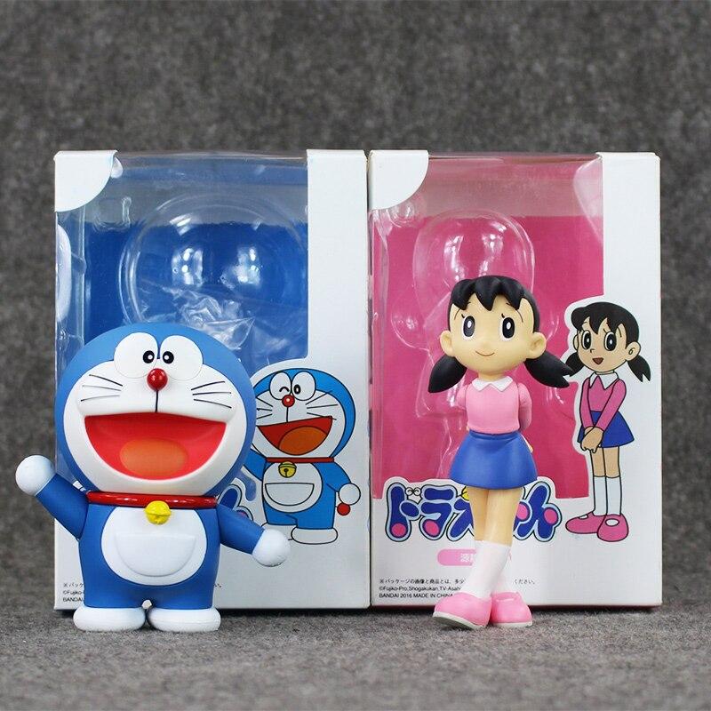 New Doraemon figure 10CM PVC Dolls collection Shizuka Minamoto Toy Free shipping yamato minamoto no eritomo 8 5x19 5x120 et45 d74 1 x ray 22