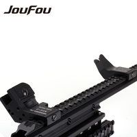 Tactical Hunting Accessories 45 Degree Flip Up Front And Rear Sight Rapid Transition Aluminum Battle Back