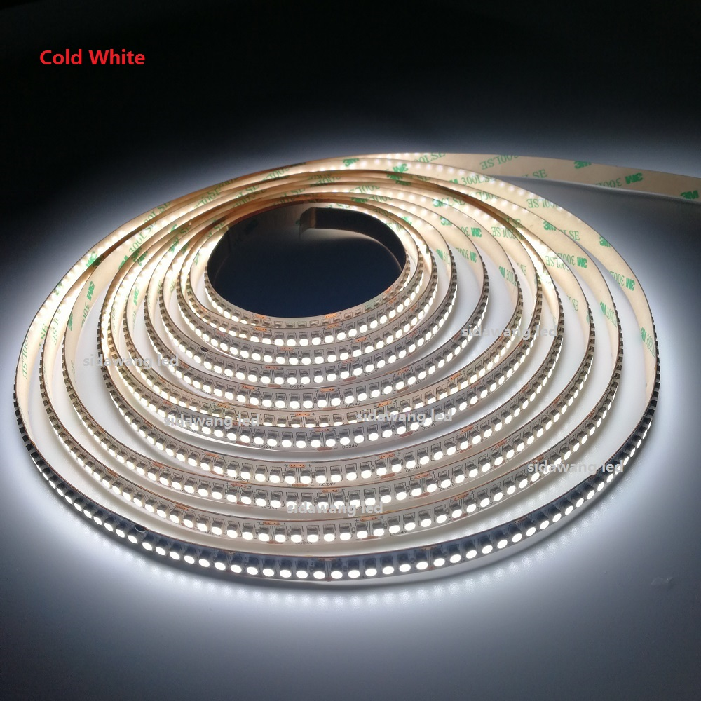 2700K 3000K 4000K 6000K NonWaterproof SMD3528 led strip 240leds m Single row 10mm PCB CRI 95