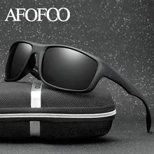 AFOFOO Clássicos Óculos Polarizados Homens Condução Óculos de Sol Óculos de  Proteção Óculos de Visão Noturna 562215d177