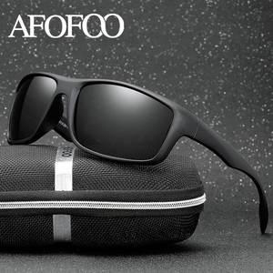 4e6a576f388 AFOFOO Classic Polarized Sunglasses Men Driving Sun Glasses Goggle Night  Vision Glasses Male Eyewear UV400 Shades Oculos de sol