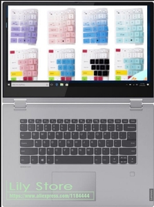For Lenovo IdeaPad S340 S340-14 API S340-14IWL S340-14API 14 inch / C340-15IWL 15 15.6'' laptop Keyboard Cover Skin Protector(China)