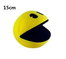 1 PCS PIXELS Movie Pacman Stuffed Toy Doll And Pac Man Pac man Smiling face Plush