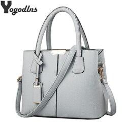 Women PU Leather Handbags Ladies Large Tote Bag Female Square Shoulder Bags Bolsas Femininas Sac New Fashion Crossbody Bags