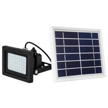 цена на Brand New 54 LED Solar Sensor Floodlight Garden Waterproof Spot Lamp(with Frame)