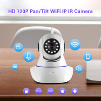 720P HD Wireless Indoor Sensors IP Camera Infrared Night Vision Audio Video Safety Monitoring Wifi Baby