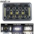 Marloo 1 шт. 4x6 ''светодиодная черная фара DRL для Honda XR250 XR400 XR650 Suzuki DRZ Truck 6X4 дюймовые фары