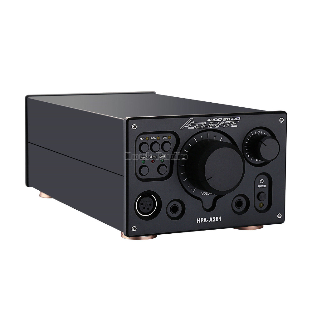 2017 New Nobsound Hi-End Fully Balanced Amplifier Digital XLR/RCA Stereo HiFi Audio Preamp Reference HPA V281 circuit cube stereo 160 hpa 27 5 pro