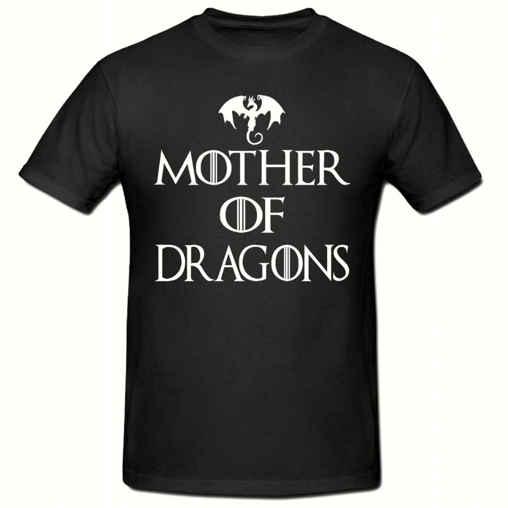 MOTHER OF DRAGONS T SHIRT FUNNY NOVELTY MENS T SHIRT SM 2XL New T Shirts Funny Tops Tee free shipping in T Shirts from Men 39 s Clothing