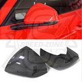 Euro Model For Ford Mustang 2014 2015 2016 Carbon Fiber Add on Style Mirror Cover