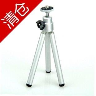 Universal Mini Travel Aluminum Metal Lightweight Tripod Support Stand Mount for Digital Camera Webcam