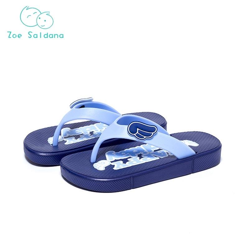 Zoe Saldana 2018 Unisex Children Beach Slippers Kids Baby Boys Girls Shoes Girls Sandals Flip Flops Slippers for Kids Girls