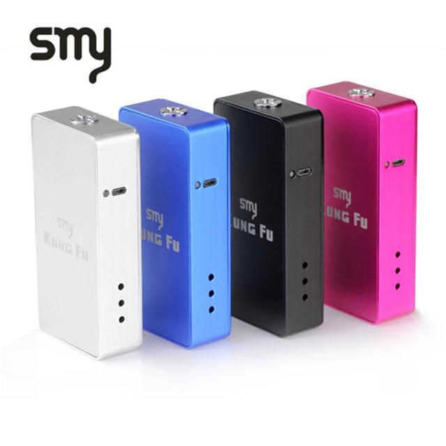 Venta de separación original smy kungfu caja mod cigarrillo electrónico mod mecánica 18650 mod box para vape pluma