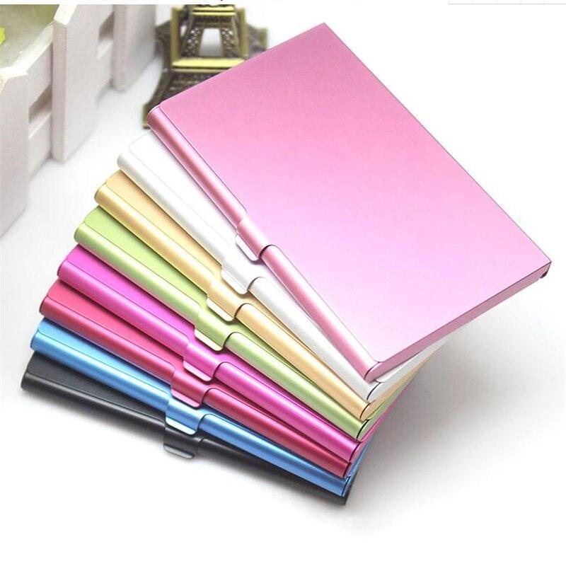 Creative Business Card Case Men Metal Card Holder Wallet ...