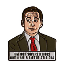 Michael Scott Emaille Pin