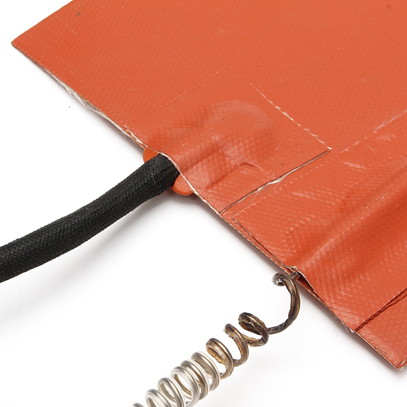 6 X 36 1200W 220V Silicone Heat Thermal Blanket Guitar Side Bending Heated Blanket w thermostat