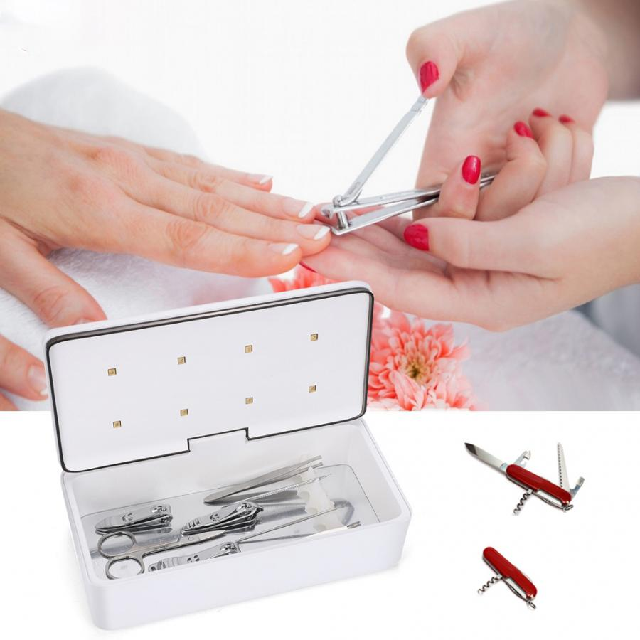 59S Smart Upgraded UV Sterilizer Box Portable Nails Tools Makeup Brushes Cleaning Nails Accessoires UV Disinfection
