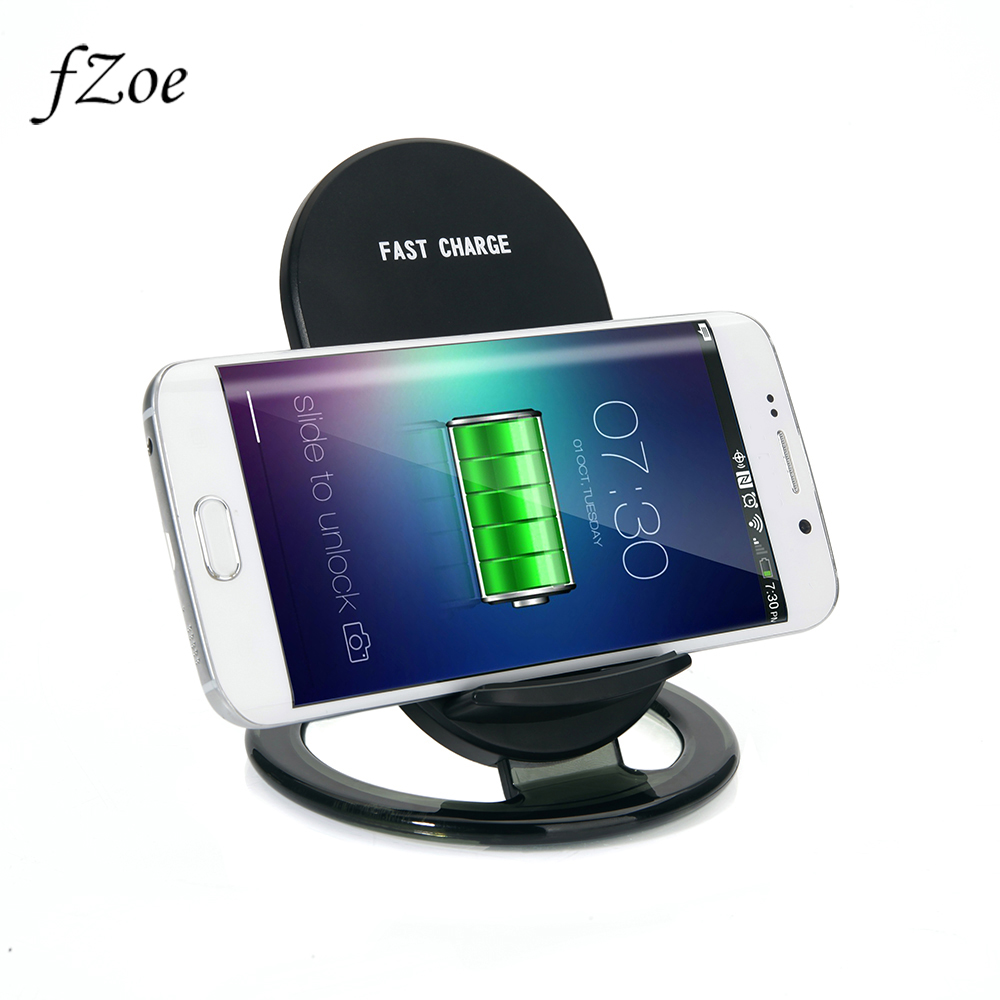 FZOE Quick Wireless Charger For iPhone X/8/8 Plus Samsung Galaxy S8/S7 Fast Wireless Charger Pad Wireless Charger Magnetic
