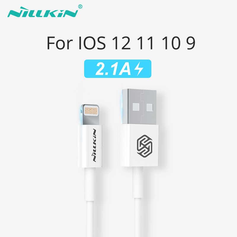 NILLKIN Usb Charger Kabel untuk iPhone X Max/XS/XR Mfi Lighting USB Kabel Data untuk iPhone X 8 7 6 6 S 8 P Ponsel Usb Charger