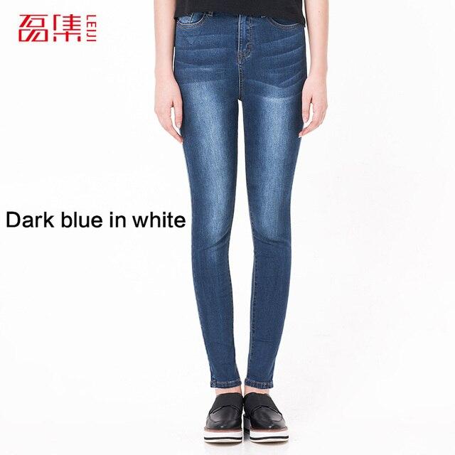 Dark blue in white
