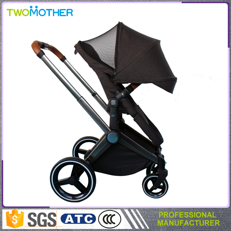 Latest design folding baby stroller Cheap Pushchairs high View seating can lie