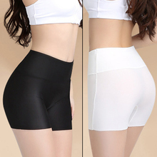 Safety-Short-Pants Seamless Tights Under-Skirt Soft High-Waist Breathable Cotton Women