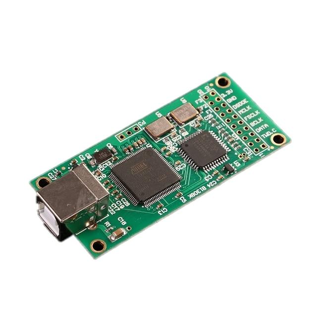 USB IIS Interface numérique DAC carte de décodeur prise en charge DSD512 32bit 384K I2S DSD sortie amplificateur audio décodeur