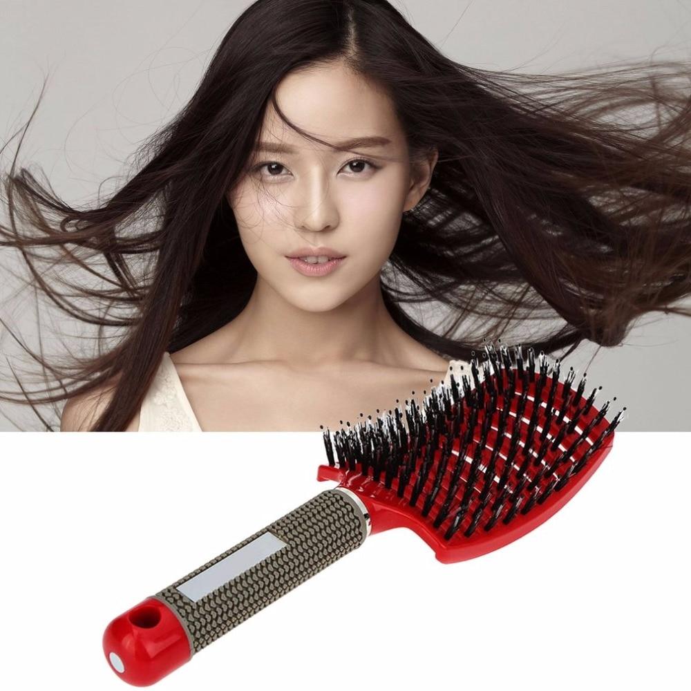 Women Hair Scalp Head Massage Brush Hairbrush Wet Curly Detangle Hair Brush Massager Health Care ginger hair scalp massage cream hair mask hair