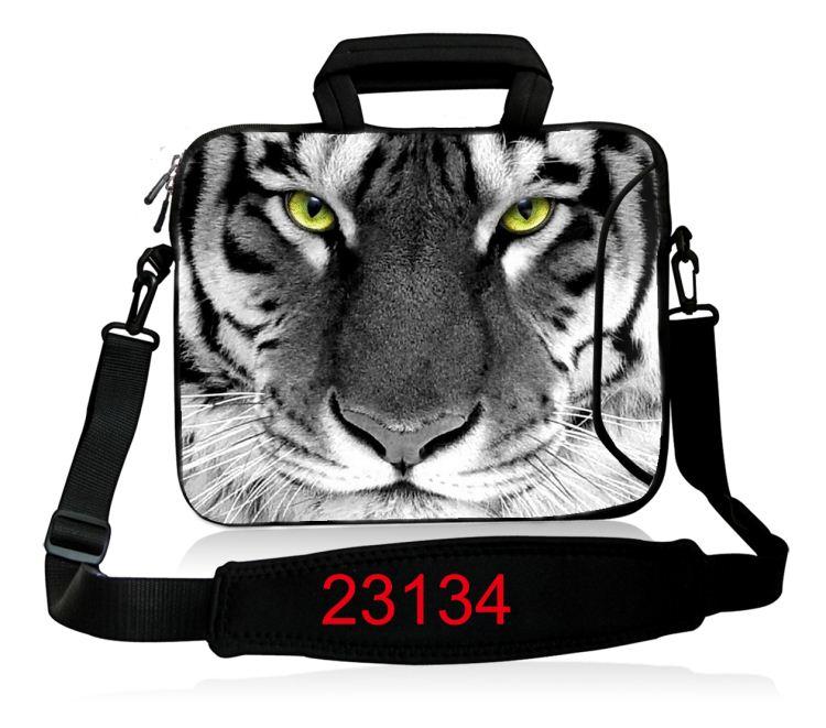 10 12 13.3 14.4 15.6 17 դյույմ Neoprene Laptop Shoulder Bag - Նոթբուքի պարագաներ - Լուսանկար 5