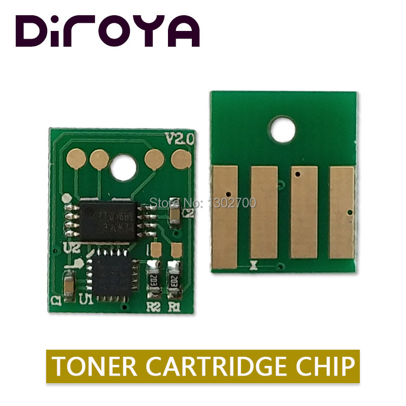 60F2H00 602H Toner Cartridge chip for lexmark mx310 mx410 mx510 mx511 mx610 mx611 MX 310 410 510 powder refill reset 10K Europe cx510 cx410 cx310 reset chip for lexmark 510 410 310 toner chip laser printer cartridge chip