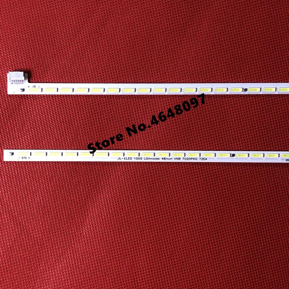606mm LED Backlight Strip 72 Lamp For LGlnnotek 48