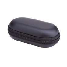 Headphone Case Bag Portable Earphone Earbuds Hard Box Storage for Memory Card USB Cable Organizer Mini Earphone Bag
